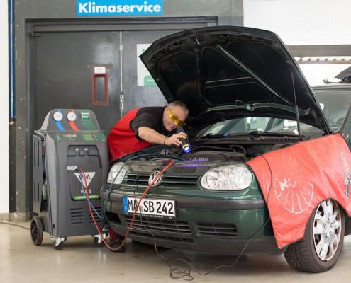 Klimaservice, Wartung und Reparatur